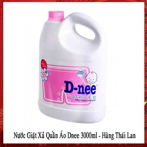 Nước Giặt Xả Quần Áo Dnee 3000ml - Thái Lan