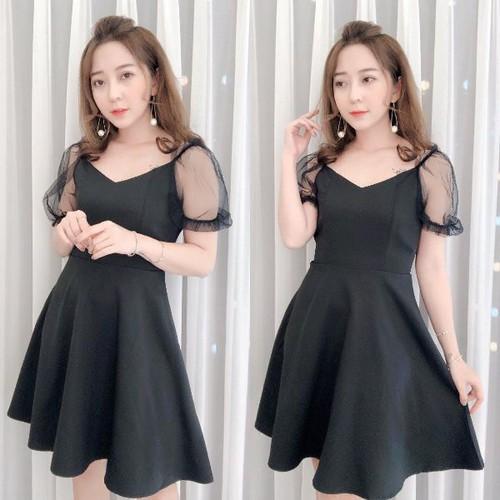 Đầm xòe nữ