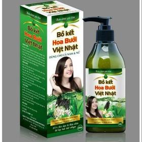 Dầu gội thảo dược bồ kết hoa bưởi Việt Nhật 300ml - Dầu gội thảo dược