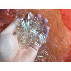 vỏ nang , vỏ viên nang, vỏ con nhộng, vỏ viên nang size 0 - 1kg empty gelatin