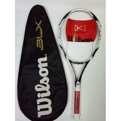 Vợt tennis Wilson 284g tặng căng cước quấn cán và bao vợt - ảnh thật sản phẩm