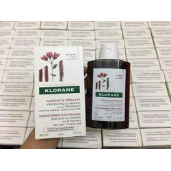 Dầu gội Klorane Shampoo With Quinine And Vitamins B của Pháp 200ml