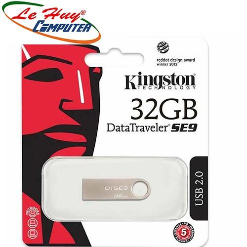 USB 2.0 Kingston DataTraveler DTSE9 32GB Bạc - 6463802 , 16544237 , 15_16544237 , 175000 , USB-2.0-Kingston-DataTraveler-DTSE9-32GB-Bac-15_16544237 , sendo.vn , USB 2.0 Kingston DataTraveler DTSE9 32GB Bạc