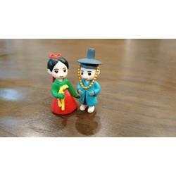 Phụ kiện cặp đôi Hàn Quốc trang trí tiểu cảnh