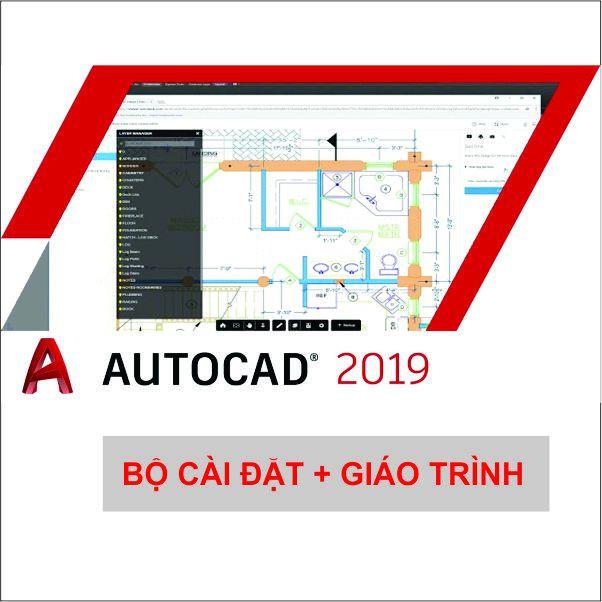 Bộ DVD AUTOCAD 2019_ dvd giáo trình all 1