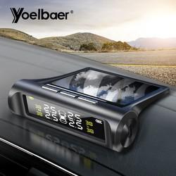 Cảm biến áp suất lốp - van gắn ngoài - pin năng lượng mặt trời - tpms YB068
