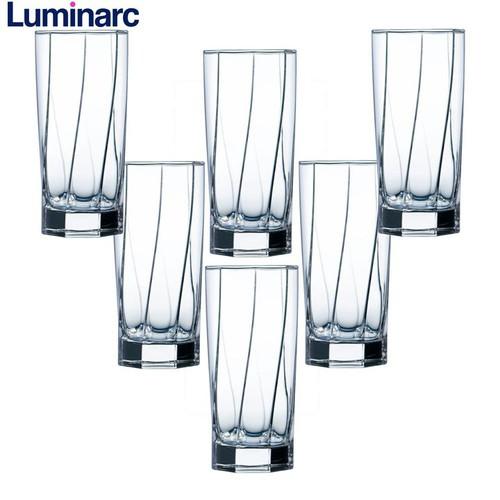 Bộ 6 ly cao thủy tinh Luminarc Aeternam 320ml L6535