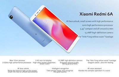Điện thoại Xiaom Redmi 6A