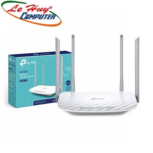 Router Wifi Băng Tần Kép AC1200 TPLink Archer C50 - Hàng Chính Hãng
