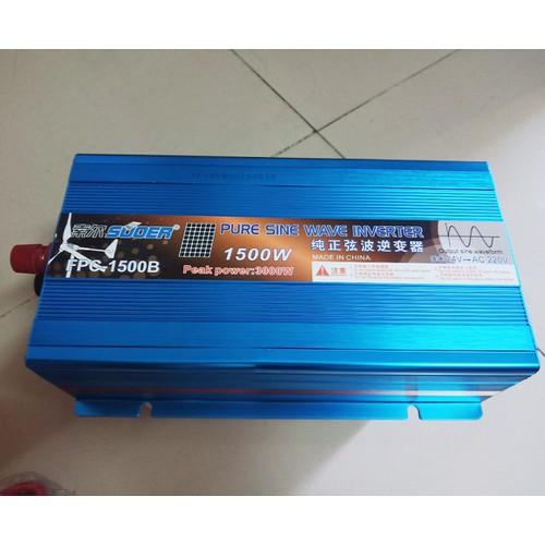 Bộ chuyển điện sin chuẩn 1500W 24V lên 220V FPC-1500B