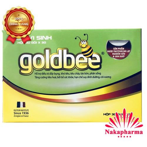 ✅ [CHÍNH HÃNG] Cốm Vi Sinh GoldBee - Bổ sung men vi sinh, dành cho người bị rối loạn tiêu hóa do loạn khuẩn ruột, ngừa tiêu chảy, táo bón, đầy bụng, khó tiêu - 4725011 , 16531652 , 15_16531652 , 135000 , -CHINH-HANG-Com-Vi-Sinh-GoldBee-Bo-sung-men-vi-sinh-danh-cho-nguoi-bi-roi-loan-tieu-hoa-do-loan-khuan-ruot-ngua-tieu-chay-tao-bon-day-bung-kho-tieu-15_16531652 , sendo.vn , ✅ [CHÍNH HÃNG] Cốm Vi Sinh GoldBe