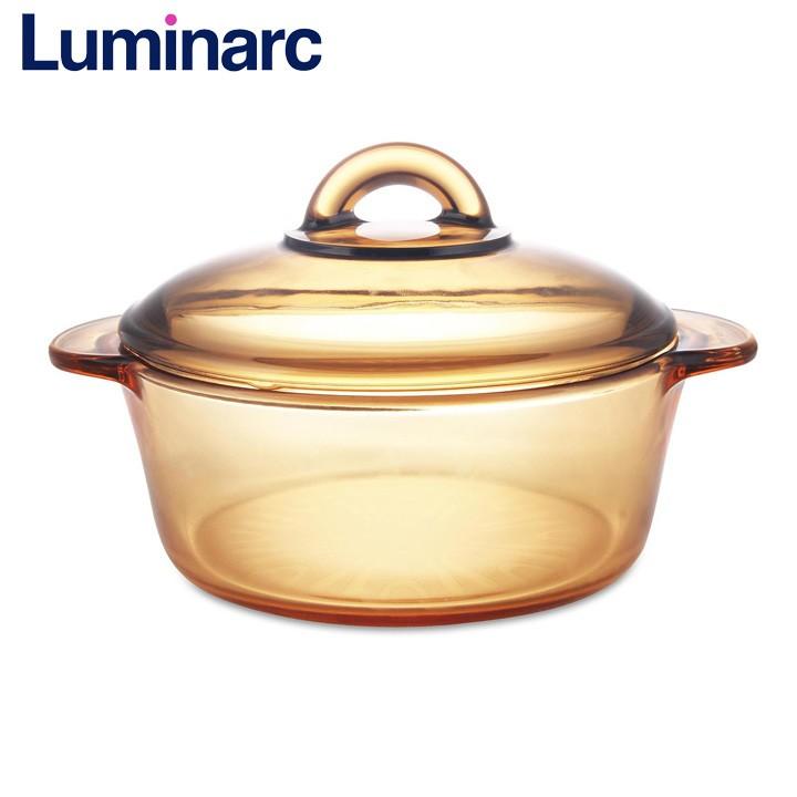 Nồi thủy tinh Luminarc Vitro Amberline Granite 1L N2846 - GR1l