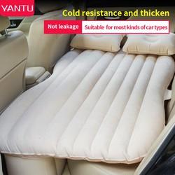 Giường hơi xe ô tô, đệm hơi ô tô siêu bền đẹp, kèm bơm+02gối+miếng vá