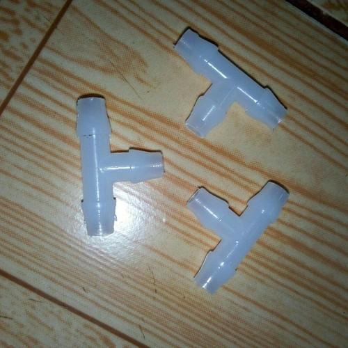Bộ 100 T nối ống 5ly trắng - T 5ly khớp nối ống nước PE