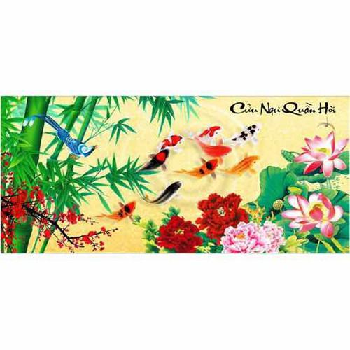 Tranh Thêu Chữ Thập 3d Cửu Ngư Quần Hội - Trúc Mẫu Đơn Hoa Sen  22299 - 6484150 , 16565257 , 15_16565257 , 133000 , Tranh-Theu-Chu-Thap-3d-Cuu-Ngu-Quan-Hoi-Truc-Mau-Don-Hoa-Sen-22299-15_16565257 , sendo.vn , Tranh Thêu Chữ Thập 3d Cửu Ngư Quần Hội - Trúc Mẫu Đơn Hoa Sen  22299