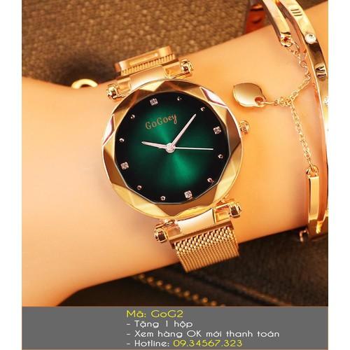 Đồng hồ nữ GoGoey thời trang dây lưới nam châm - 6481880 , 16563330 , 15_16563330 , 398000 , Dong-ho-nu-GoGoey-thoi-trang-day-luoi-nam-cham-15_16563330 , sendo.vn , Đồng hồ nữ GoGoey thời trang dây lưới nam châm