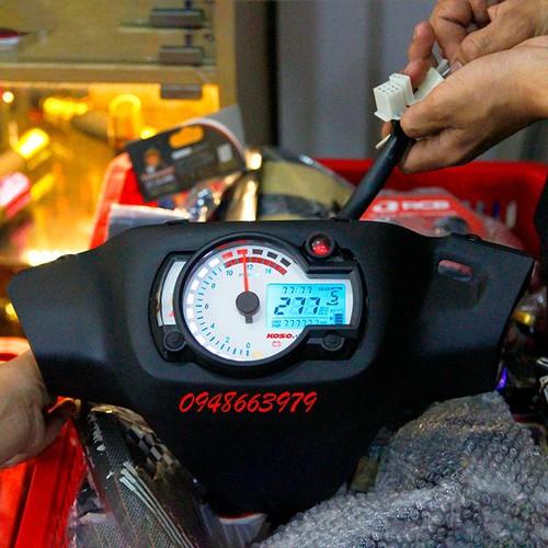 Bợ cổ satria 2003 - 2006 chế đồng hồ RX2N.