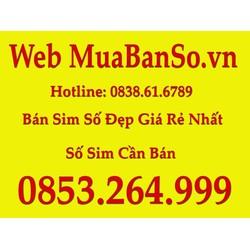 Sim điện thoai 0853246999