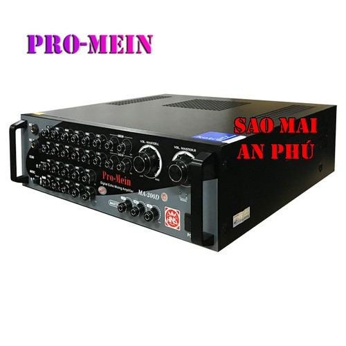 Ampli 12 SÒ karaoke, Amply nghe nhạc gia đình, sân khấu hội trường Pro-Mein MA-200A - 6500708 , 16584115 , 15_16584115 , 5290000 , Ampli-12-SO-karaoke-Amply-nghe-nhac-gia-dinh-san-khau-hoi-truong-Pro-Mein-MA-200A-15_16584115 , sendo.vn , Ampli 12 SÒ karaoke, Amply nghe nhạc gia đình, sân khấu hội trường Pro-Mein MA-200A