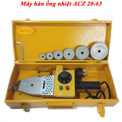 Máy Hàn Ống Nhiệt PPR ACZ 20-63-Máy Hàn Nhiệt ACZ 20-63