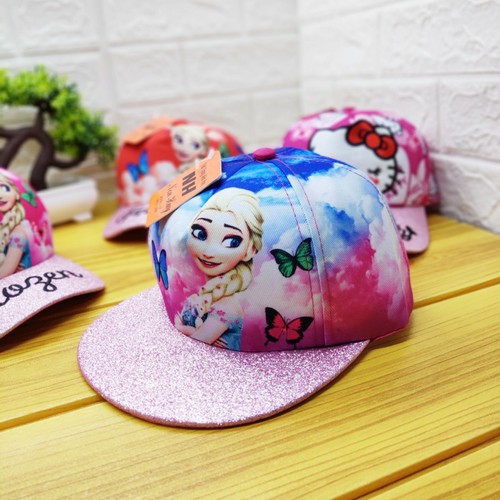 Mũ elsa hip hop cho bé gái