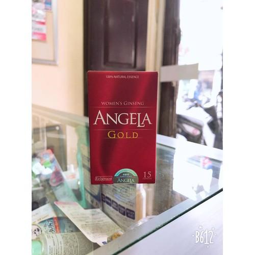 Angela Gold lọ 15 viên