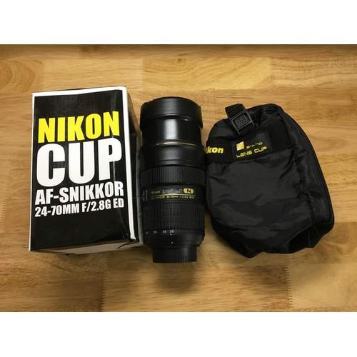 Ly mô phỏng ống kính Nikon AF-S 24-70mm F2.8G ED