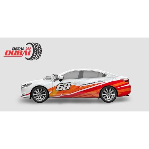 Tem Dán Sườn Xe Mazda 6 - 6482533 , 16563711 , 15_16563711 , 2300000 , Tem-Dan-Suon-Xe-Mazda-6-15_16563711 , sendo.vn , Tem Dán Sườn Xe Mazda 6