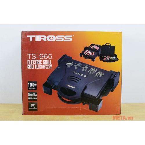 MÁY KẸP NƯỚNG BÁNH MỲ ĐA NĂNG Tiross TS-965