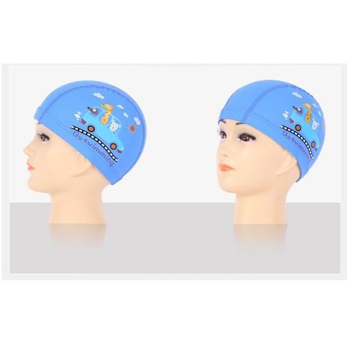 Mũ bơi nón bơi vải phủ PU chống nước cho trẻ em M05X - 6491709 , 16574232 , 15_16574232 , 79000 , Mu-boi-non-boi-vai-phu-PU-chong-nuoc-cho-tre-em-M05X-15_16574232 , sendo.vn , Mũ bơi nón bơi vải phủ PU chống nước cho trẻ em M05X