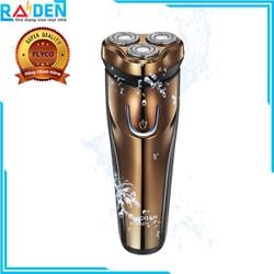Máy cạo râu 3 lưỡi Flyco FS371VN có chức năng tỉa tóc, tỉa tóc mai, thiết kế chịu nước