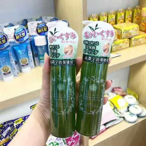 Tẩy da chết Green Tea Clear Peeling trà xanh Nhật Bản 200ml