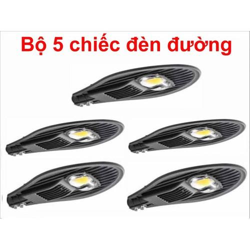 Bộ 5 chiếc đèn đường led 50W 1 mắt led, vnled, vietnamled, đt 0936395395