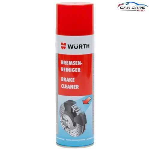 Tẩy Rửa Phanh Thắng Xe Wurth Brake Cleaner 500ml