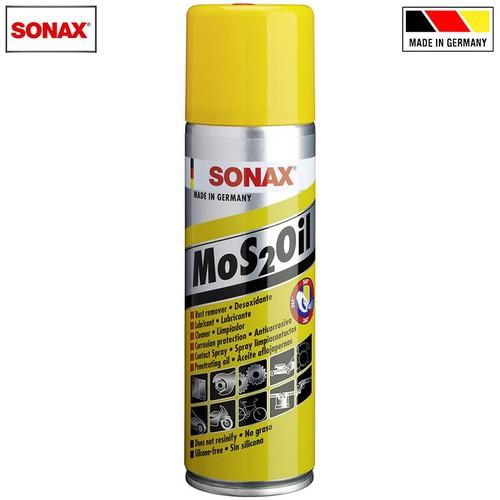 Dầu bôi trơn chống rỉ sét, chống ăn mòn Sonax Mos2Oil 300ml 339200