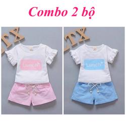 [Miễn phí ship] COMBO 2 bộ cho bé gái size 7-18kg