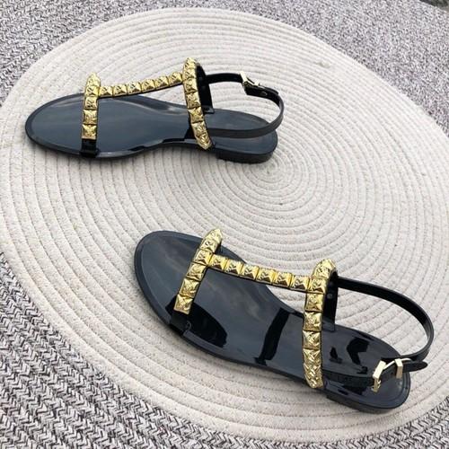 Sandal nữ đính kim óng ánh