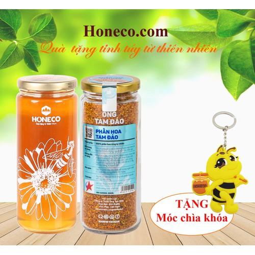Combo Mật ong + Phấn hoa Tam Đảo [Tặng móc chìa khóa Honeco] - 6481894 , 16563356 , 15_16563356 , 350000 , Combo-Mat-ong-Phan-hoa-Tam-Dao-Tang-moc-chia-khoa-Honeco-15_16563356 , sendo.vn , Combo Mật ong + Phấn hoa Tam Đảo [Tặng móc chìa khóa Honeco]