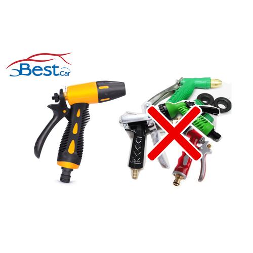 Bộ 5 Súng vòi xịt có ống nước phun rửa xe chuyên nghiệp - Bestcar