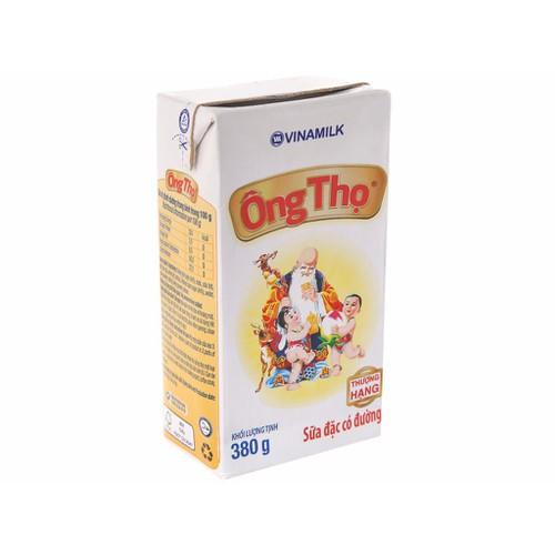 Sữa đặc có đường Vinamilk trắng nhãn vàng hộp 380g