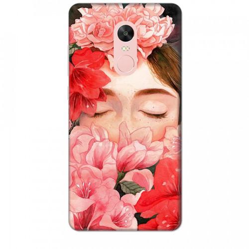 Ốp lưng dành cho điện thoại xiaomi note 4x nàng hoa - hàng chất lượng cao