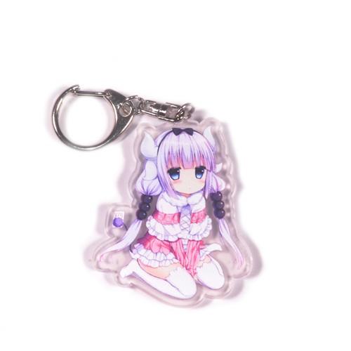 Móc khóa Anime bằng nhựa acrylic dày 3mm hình Kobayashi-san Chi no Maid Dragon H2 [AAM] [PGN18] - 6484614 , 16565914 , 15_16565914 , 39000 , Moc-khoa-Anime-bang-nhua-acrylic-day-3mm-hinh-Kobayashi-san-Chi-no-Maid-Dragon-H2-AAM-PGN18-15_16565914 , sendo.vn , Móc khóa Anime bằng nhựa acrylic dày 3mm hình Kobayashi-san Chi no Maid Dragon H2 [AAM] [P