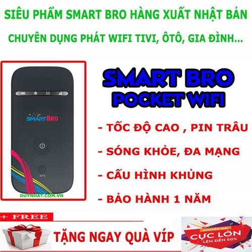 Máy Phát Wifi Smart Bro - Tặng Quà Hấp Dẫn