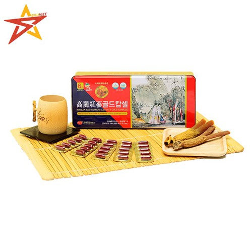 Viên Sâm Nhung Linh Chi Cao Cấp KGS 98.4g