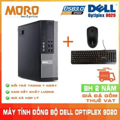 Máy tính đồng bộ Dell Optiplex 9020 - 7327062 , 17123665 , 15_17123665 , 8000000 , May-tinh-dong-bo-Dell-Optiplex-9020-15_17123665 , sendo.vn , Máy tính đồng bộ Dell Optiplex 9020