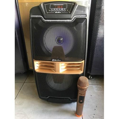 loa kẹo kéo karaoke bluetooth loa kéo 2 loa bass chất