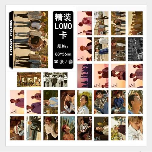 Lomo Card GOT7 Mẫu Mới Nhất