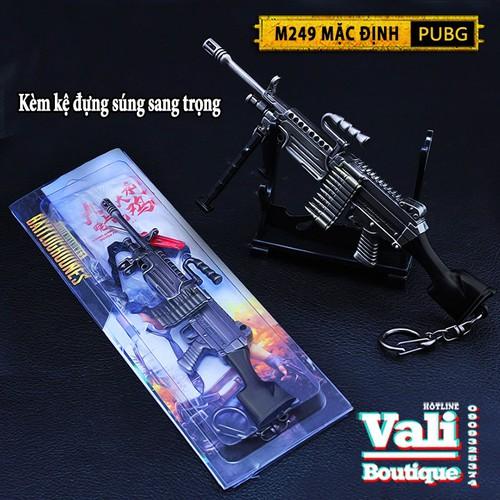Móc khóa PUBG kèm giá đỡ - M249 - 16cm - 7321024 , 17121086 , 15_17121086 , 239000 , Moc-khoa-PUBG-kem-gia-do-M249-16cm-15_17121086 , sendo.vn , Móc khóa PUBG kèm giá đỡ - M249 - 16cm