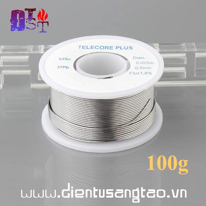 Cuộn thiếc hàn mạch 0.8mm 100g
