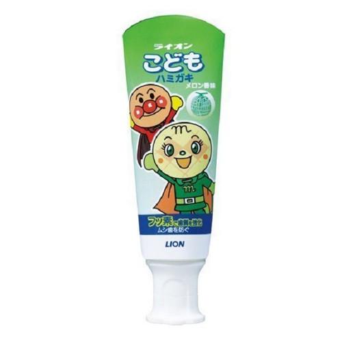 Kem Đánh Răng Cho Bé Lion Nhật Bản 40g - Hương Dưa Gang